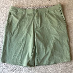 The North Face army green shorts men's sz 38